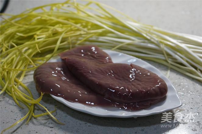 韭黄炒腰花的做法大全