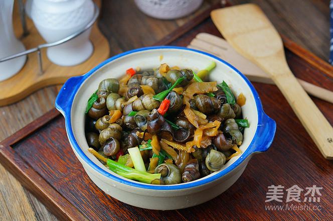 鲜炒螺蛳怎么煮