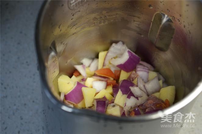 豆浆机版时蔬牛肉汤的家常做法