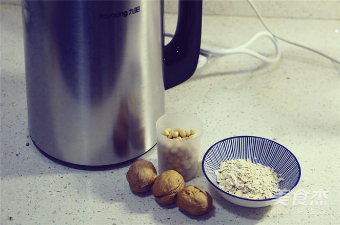 核桃麦香豆浆的做法大全