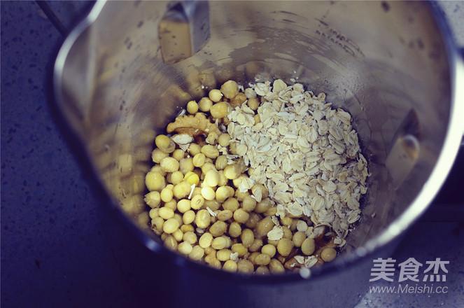 核桃麦香豆浆的家常做法