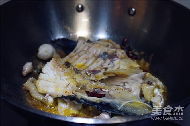 菌菇鱼头汤的简单做法