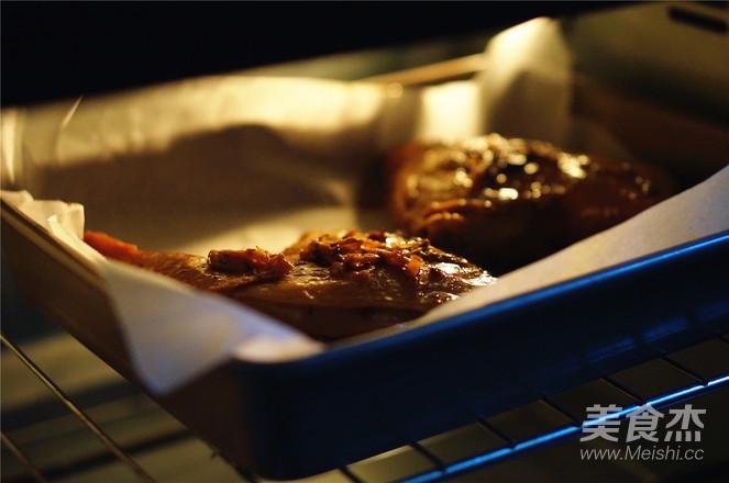 烤酱香鸭腿怎么炒