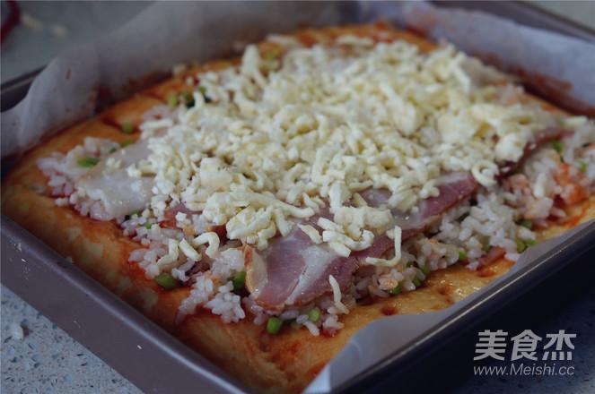 培根炒饭披萨怎样炒