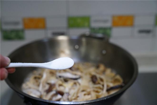香菇焖笋片怎么做