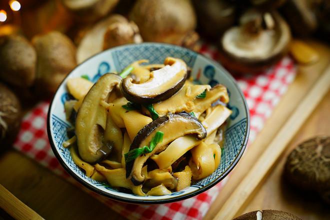 香菇焖笋片怎么煮