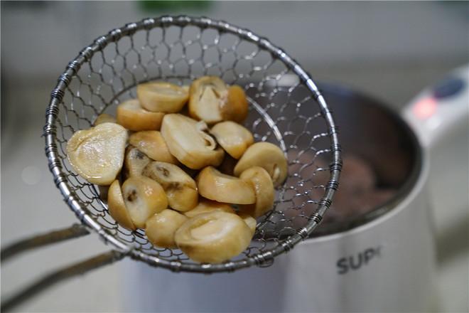 草菇牛肉丸汤怎么吃