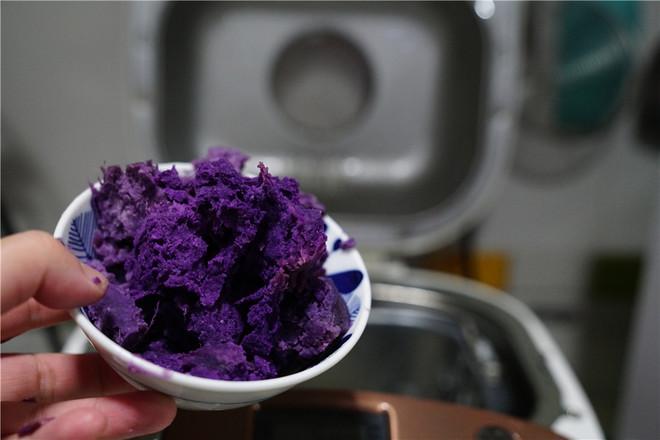 紫薯面包怎么做