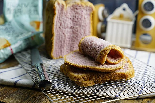 紫薯面包怎么煮