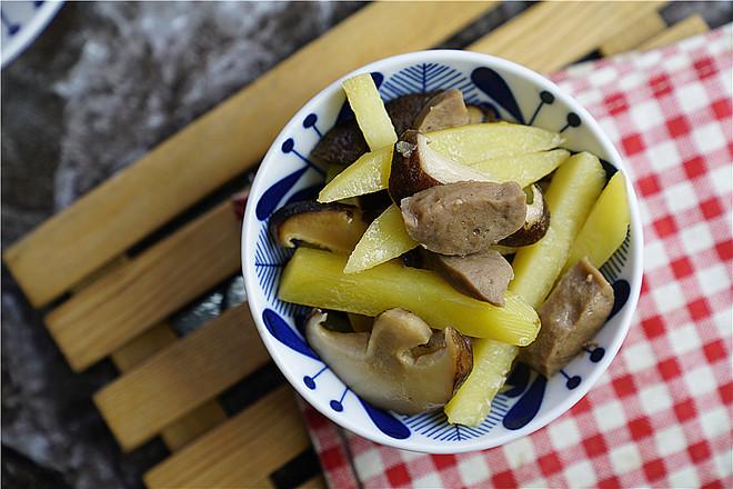 香菇土豆煮肉丸怎么炒
