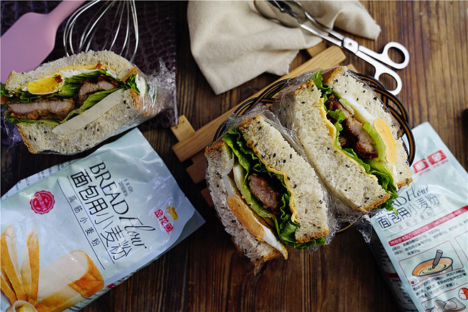猪排三明治怎样煮