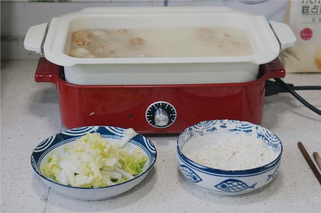 豆腐丸子疙瘩汤面怎么煮