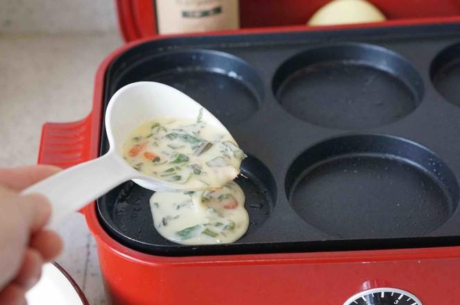 河虾芹菜蛋饼的家常做法