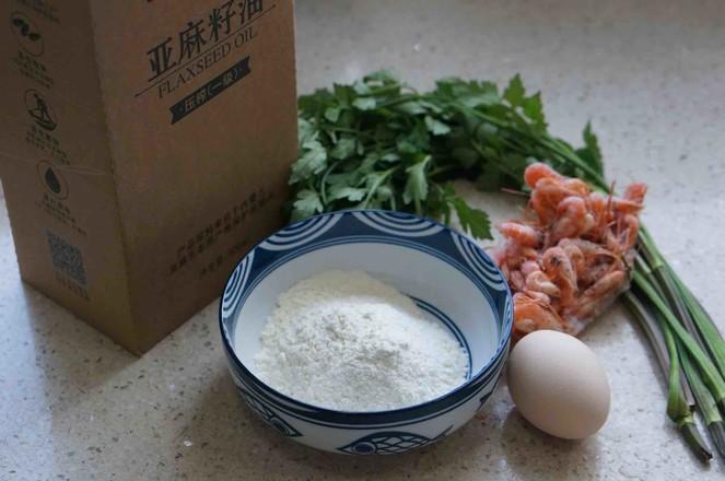 河虾芹菜蛋饼的做法大全