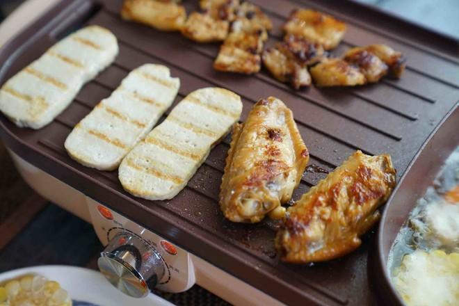 油鸡鲜蔬火锅怎么做