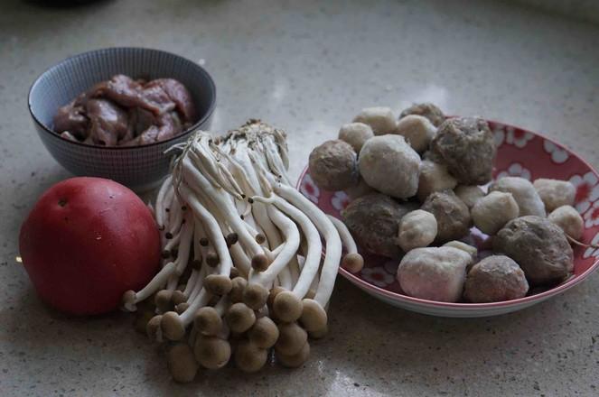 茄汁菌菇牛肉丸子汤的做法大全