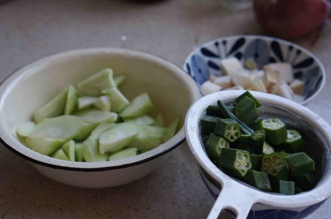 榨菜三蔬汤的做法图解