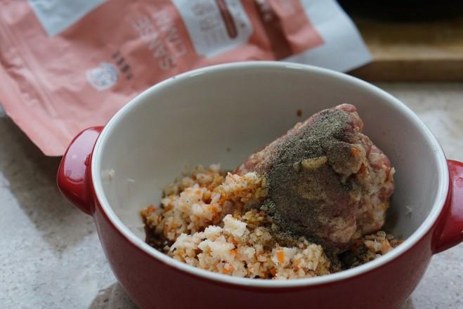 三色藜麦藕丸子的家常做法