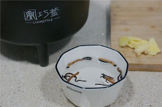 冬虫夏草蒸鸭汤的家常做法
