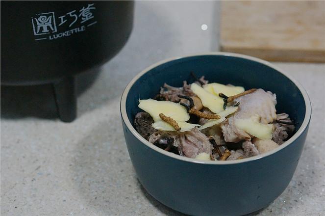 冬虫夏草蒸鸭汤怎么吃