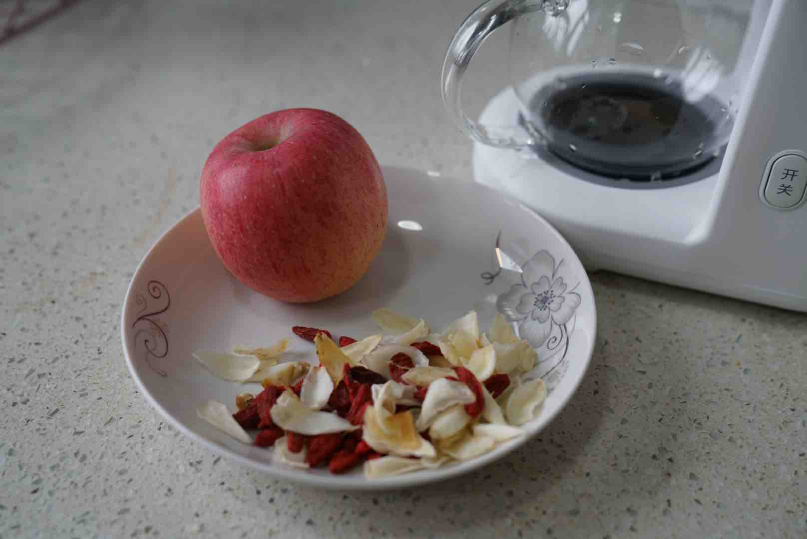 苹果百合枸杞茶的做法大全