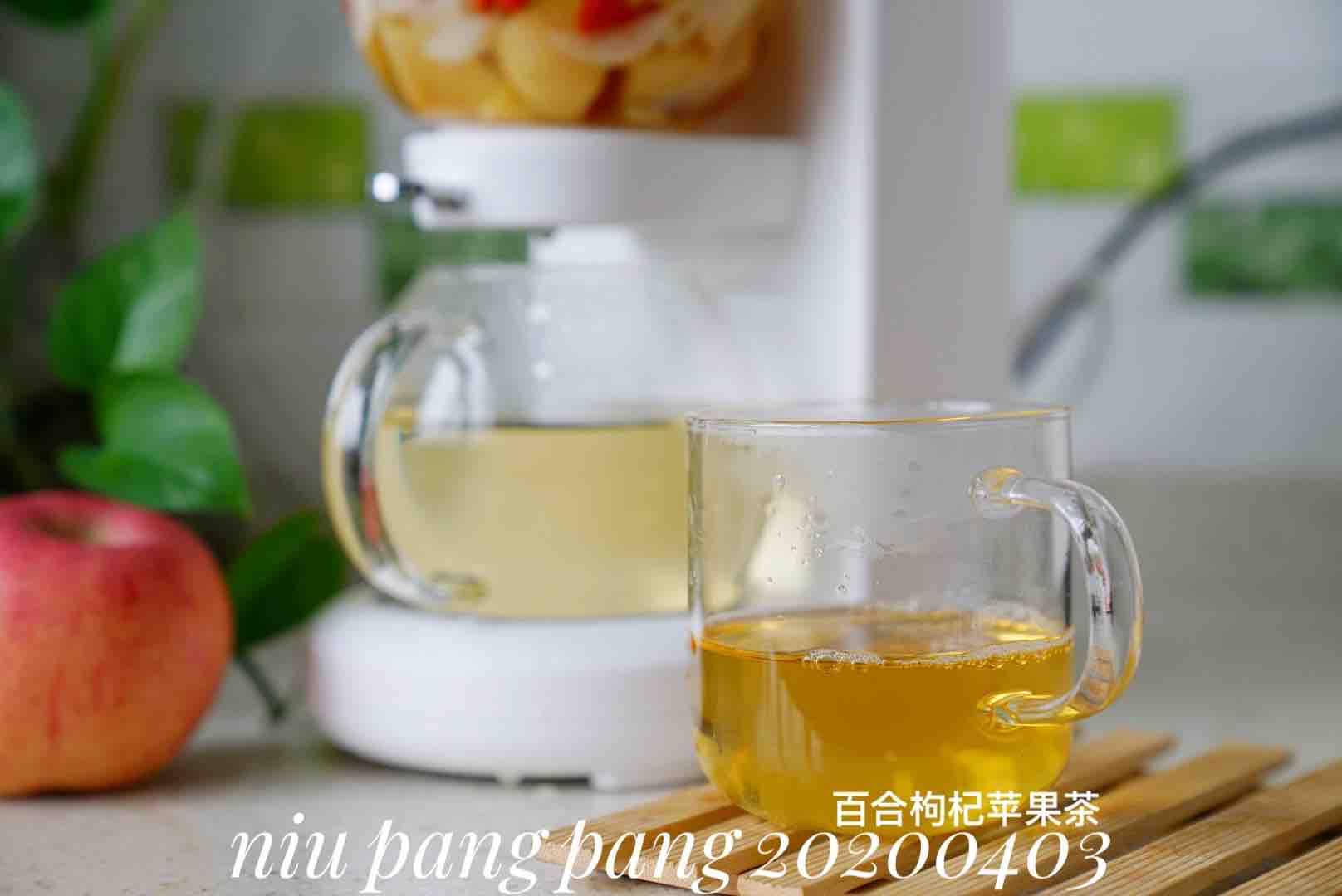 苹果百合枸杞茶怎么做