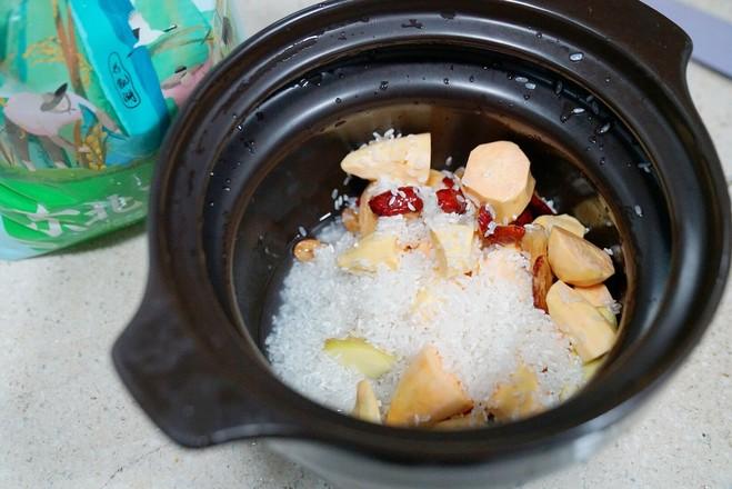 红枣地瓜姜粥怎么吃