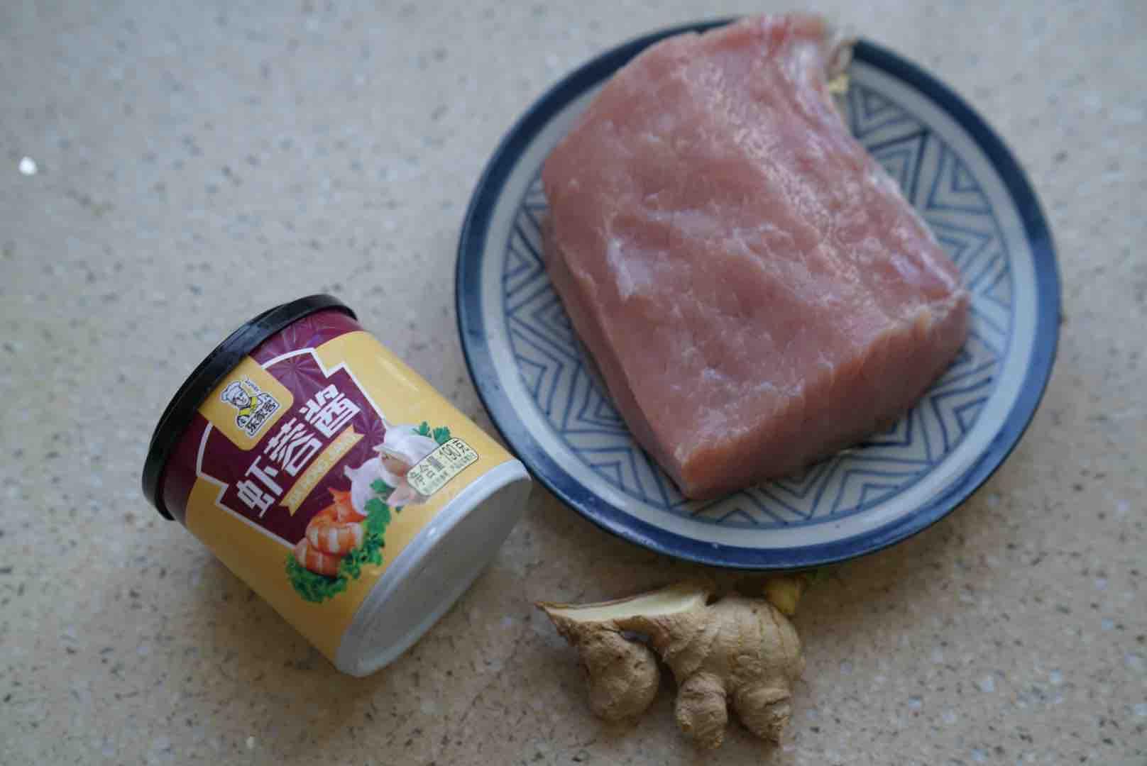 虾蓉酱蒸肉的做法大全