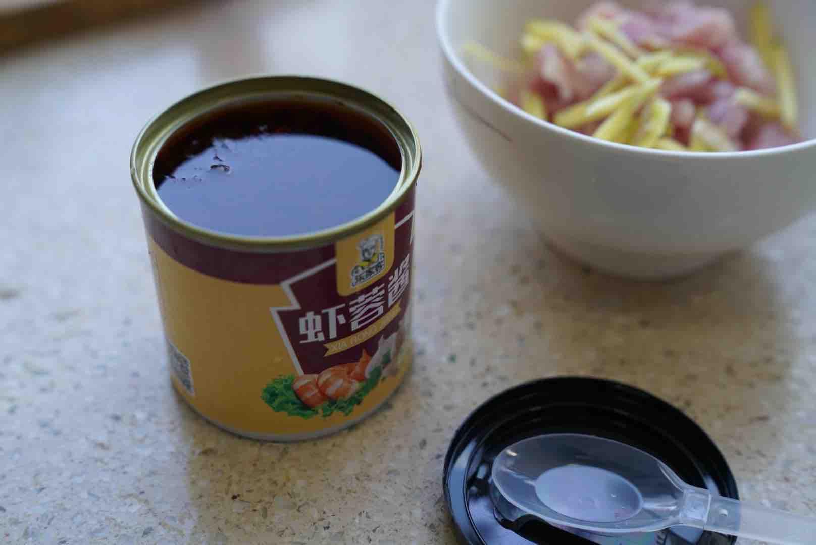 虾蓉酱蒸肉的简单做法
