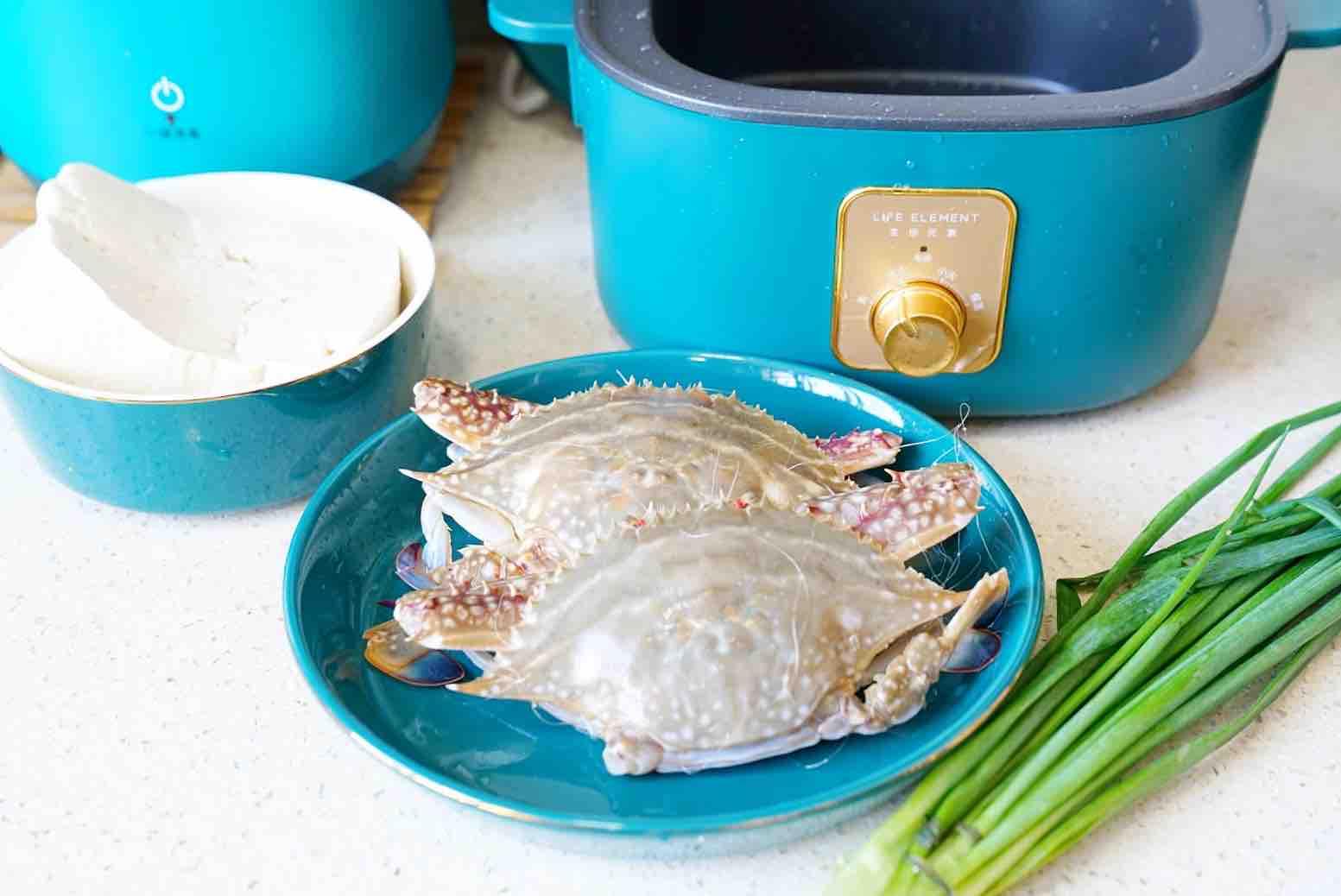 蟹焖豆腐的做法大全