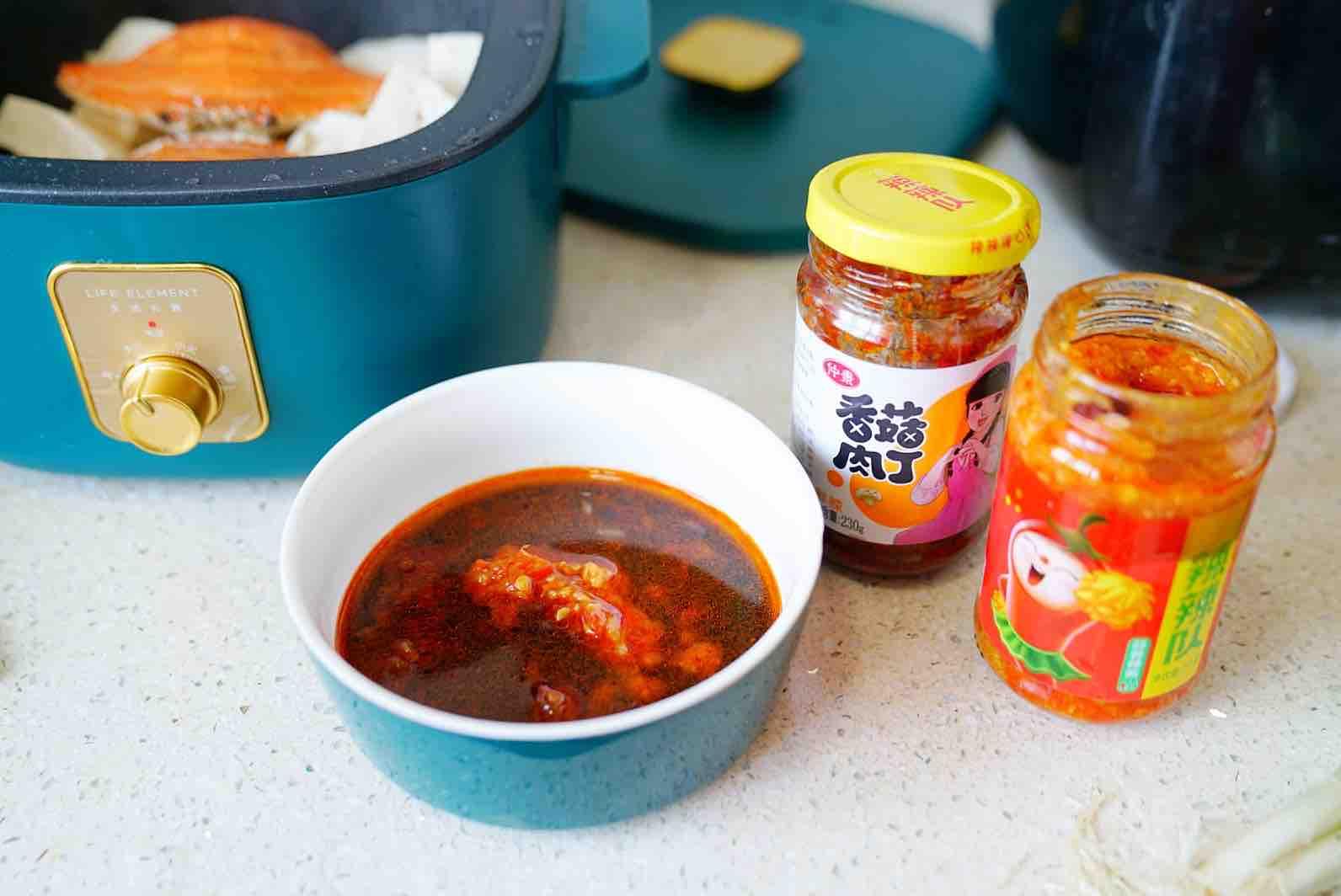 蟹焖豆腐怎么做