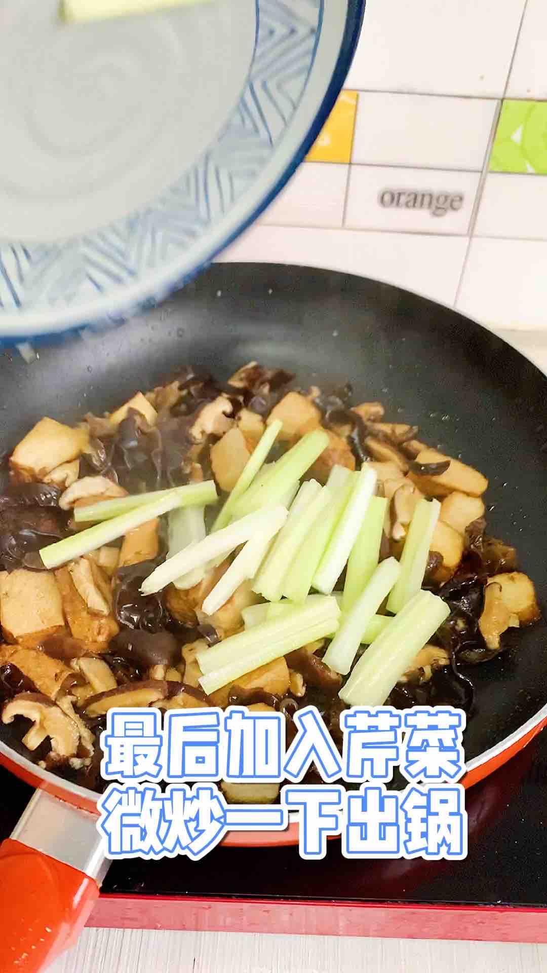 五香豆干炒木耳怎么煮