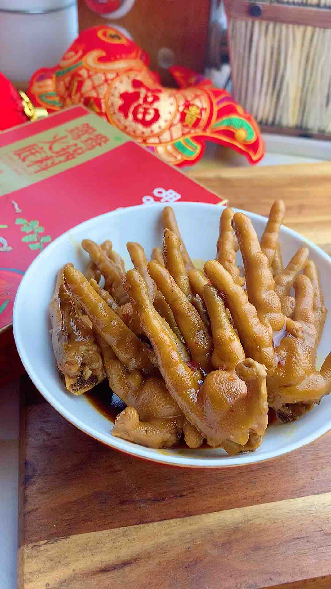 麻辣卤鸡爪,年菜里不可缺少的一道菜的步骤