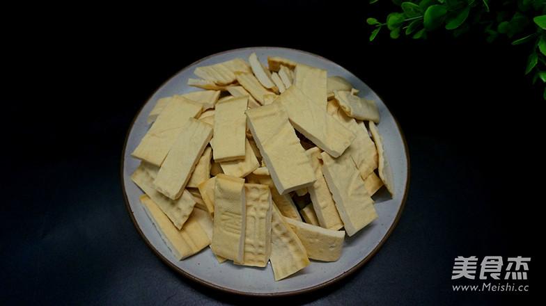 酱焖白豆腐干的做法图解