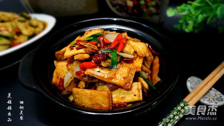 酱焖白豆腐干的制作大全