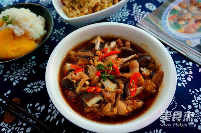 香菇蒸滑鸡----健康好味怎么煸