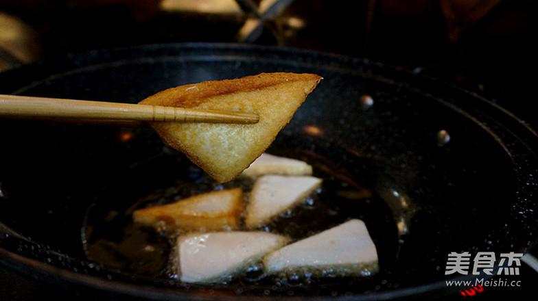 香辣肉沫豆腐角-----下饭神器怎么炖