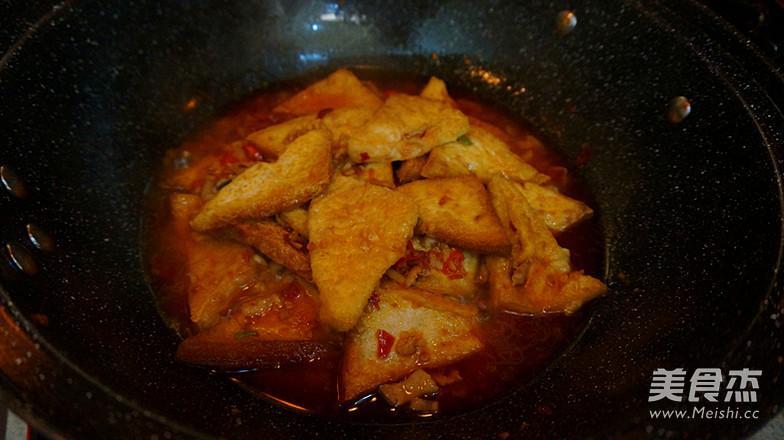 香辣肉沫豆腐角-----下饭神器怎样煮
