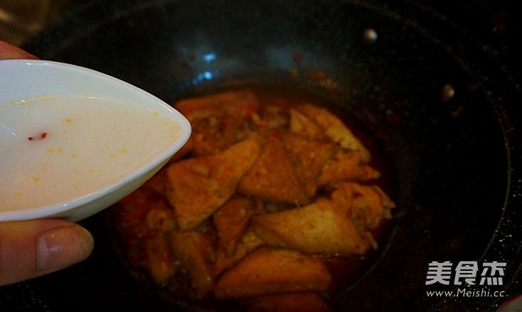 香辣肉沫豆腐角-----下饭神器的制作