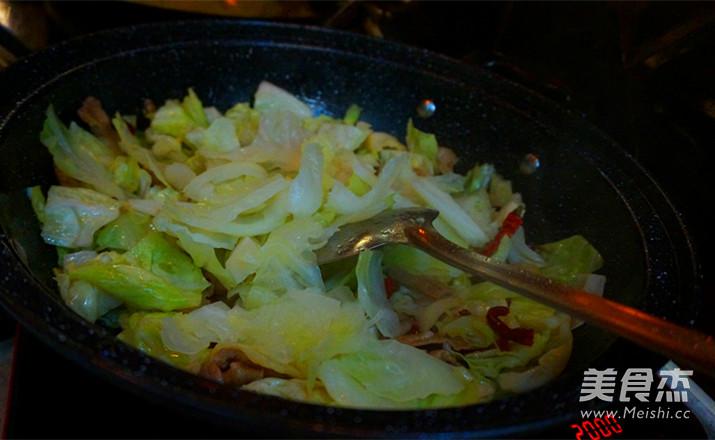 干锅手撕包菜怎样煮