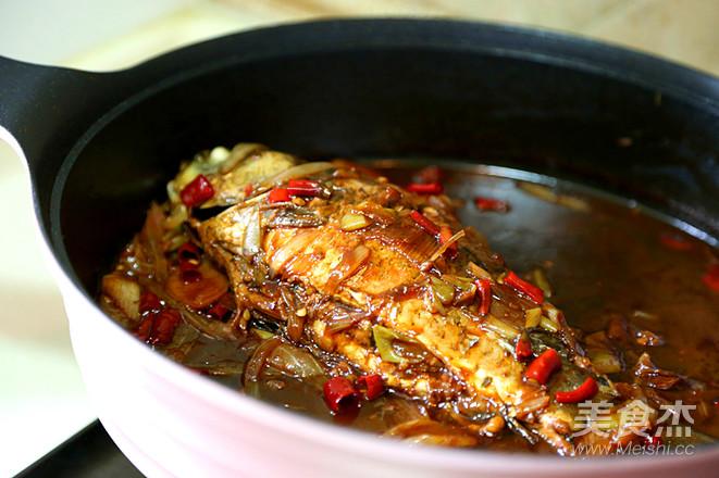 酱烧鲫鱼的制作方法