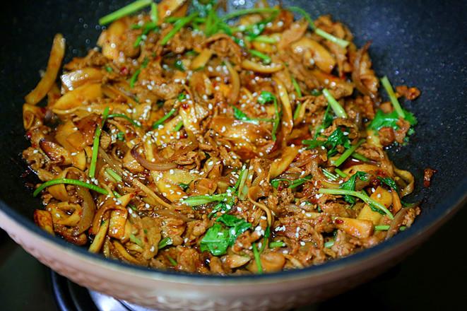 韩式杏鲍菇盖饭怎样煮