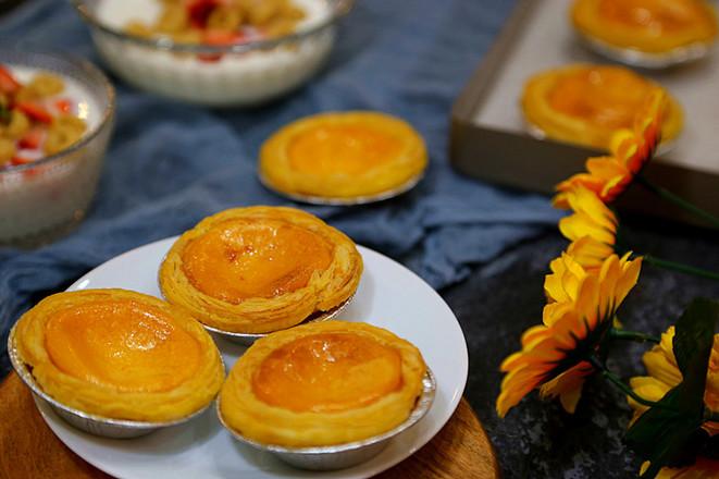 奶香蛋挞-----简易版的制作