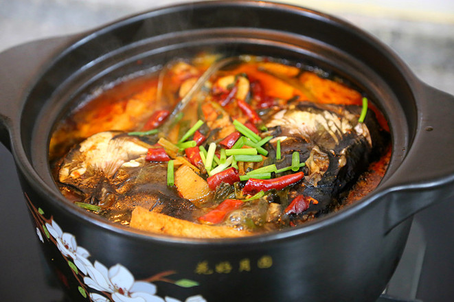 香辣草鱼豆腐煲的做法大全