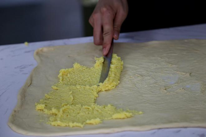 椰蓉吐司的制作方法