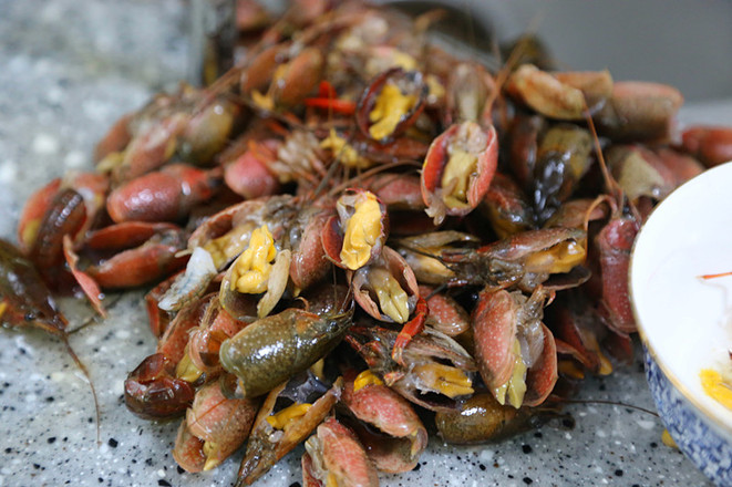 蒜蓉龙虾尾的做法图解