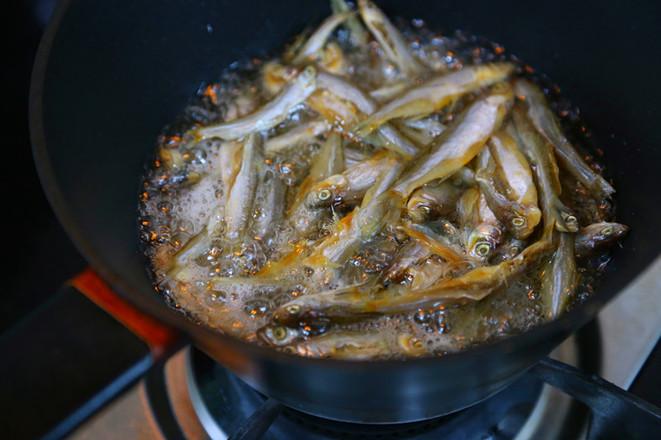香辣毛豆米炒小鱼干怎么煮