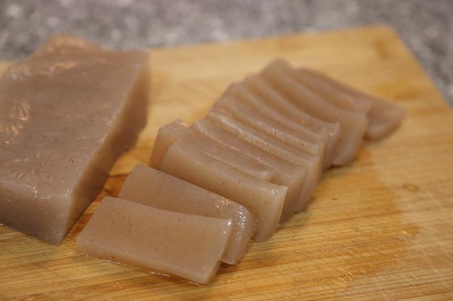 剁椒炒魔芋豆腐的做法图解