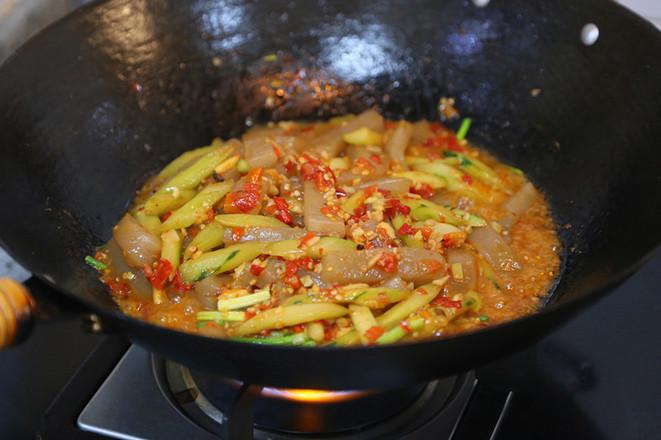 剁椒炒魔芋豆腐怎样煮