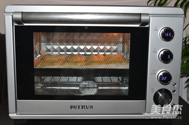 橙香老式面包怎样做